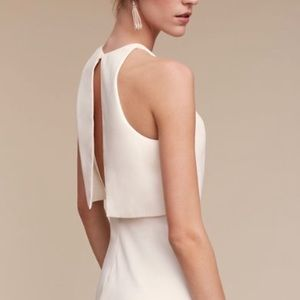 BHLDN Iva Crepe Dress